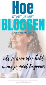 Bloggen als ondernemer_ Waar begin je_