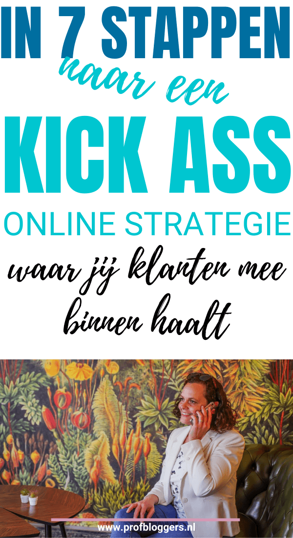 Geweldige online strategie