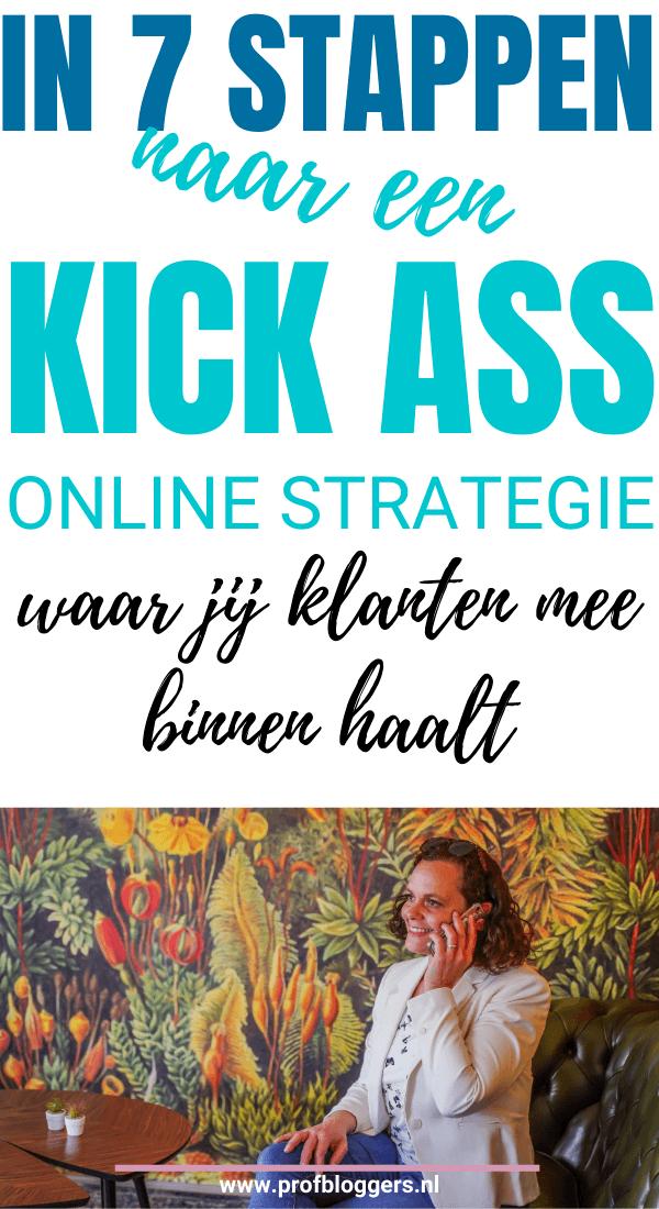 Geweldige online strategie