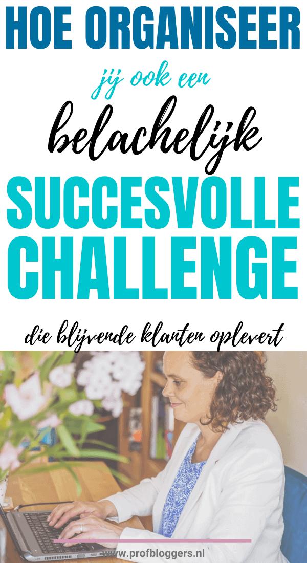 Wil jij een online challenge organiseren om meer leads en meer klanten binnen te halen? Volg dit handige stappenplan voor een mail challenge en vul jouw mail funnel met geïnteresseerde prospects. #challenge #mailchallenge #funnel