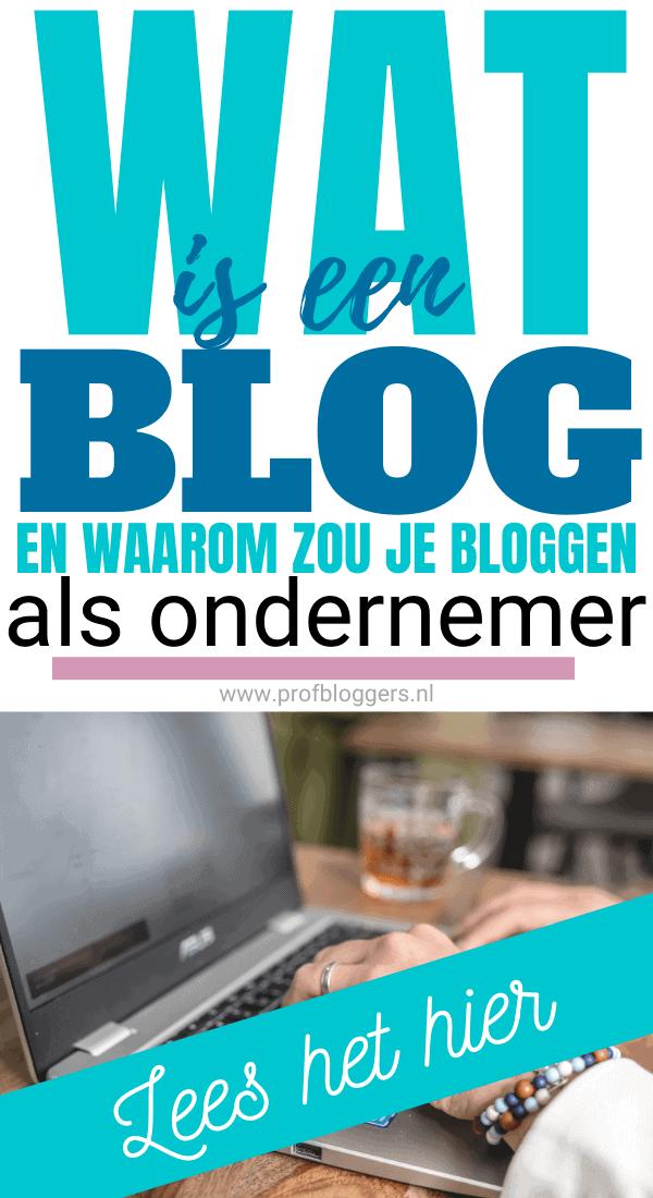 Wat is een blog